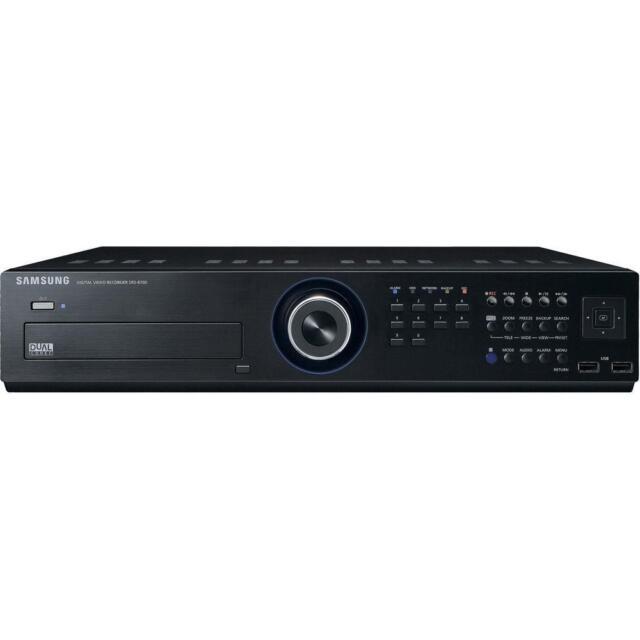 Samsung SRD-870DC 8-Channel Security Camera DVR Digital Video Recorder 250 GB