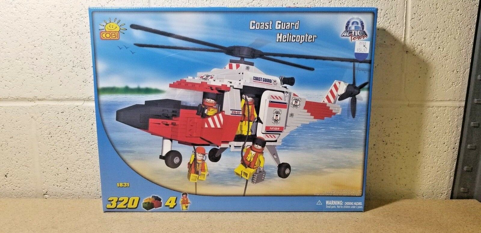 COBI     Coast Guard Helicopter Builder Set [1831] 2e2bcb