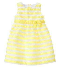6df0e96b1 Gymboree Egg Hunt yellow Easter dress New NWT girls size 6 12 18 24 ...
