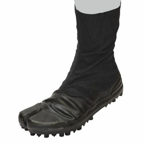 Sokaido Tabi Zapatos botas De Trabajo Suela Spike 8 Tapones Negro I-10-8 de Japón