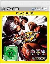 Playstation 3 STREET FIGHTER 4 IV Streetfighter DEUTSCH Gebraucht Neuwertig