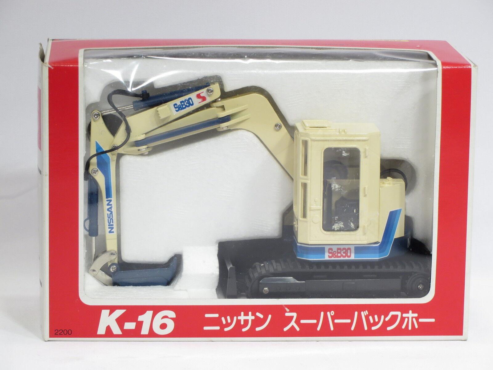 Nissan S&B30 Excavator -  1 26 - Diapet  K16 - MIB  sortie de vente pas cher en ligne