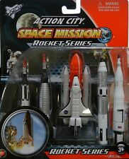NASA Space Shuttle Endeavour Rocket 5 pc Set Gemini Saturn V Mercury Redstone