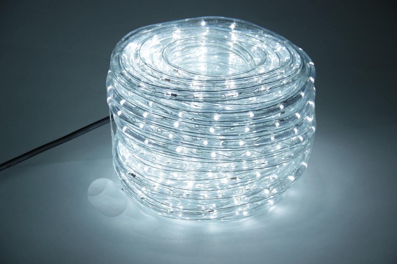 GEV LED Lichtschlauch Lichtschlauch Lichtschlauch KaltWeiss 24m Innen Außen IP44Netzteil Lichterschlauch | Up-to-date Styling  597ade