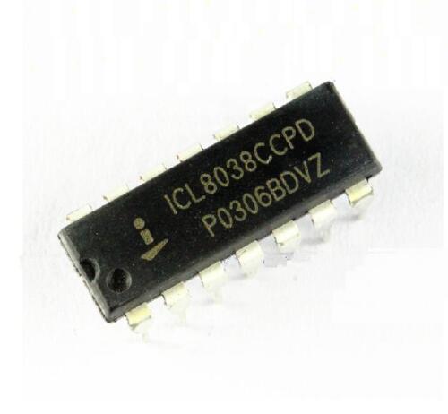10CS New ICL8038CCPD ICL8038 DIP-14 INTERSIL NEW CA