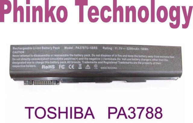Battery for Toshiba Tecra A11 M11 S11 P11 PA3787U-1BRS PA3788U-1BRS