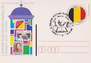 Poland postmark LUBLIN - philatelic exhibition - Bystra Slaska, Polska - Poland postmark LUBLIN - philatelic exhibition - Bystra Slaska, Polska