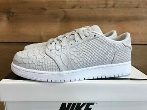 innovative design pretty cheap buy best Details about 2017 Nike Air Jordan 1 Retro Low NS BG SZ 5Y Off White  923624-111