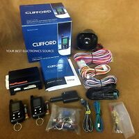 Clifford 5325x 2-way Security & Remote Start System
