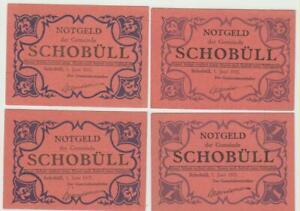 Schobuell-25-50-75-Pfg-1-Mk-1-8-1921-ziegelrot
