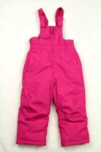 Outerwear Adroit Girl's Toddler Red Snow Bibs Ski Insulated Pants Size 3t Fashionable And Attractive Packages