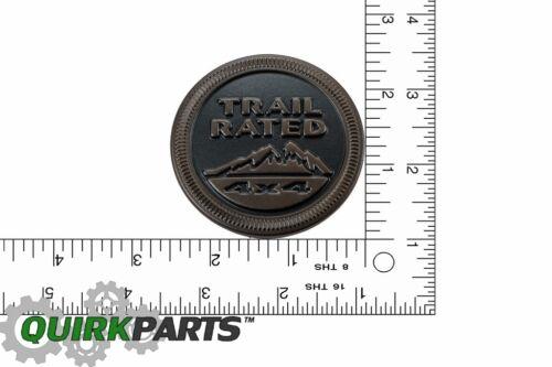 OEM MOPAR 75th Anniversary Edition 4x4 Trail Rated Emblem 16-17 JEEP WRANGLER