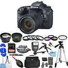 Canon EOS 7D Digital SLR Camera W/ EF-S 18-135mm IS Lens Kit!! MEGA BUNDLE NEW!!