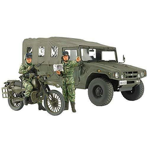 Tamiya 25188 JGSDF Recon. Motorcycle & High Mobility Vehicle 1 35 Scale Kit