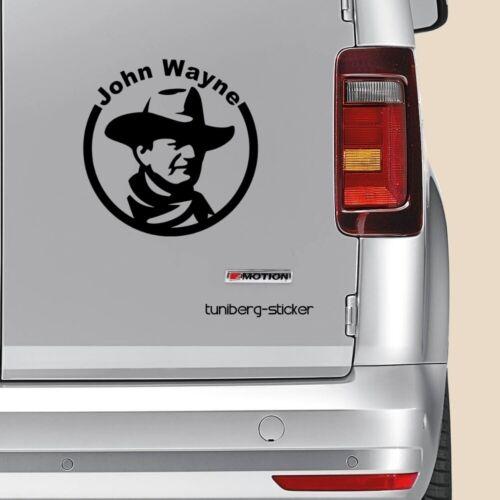Voiture Autocollant John Wayne 12x12cm 7,90 € Sticker Movies Western