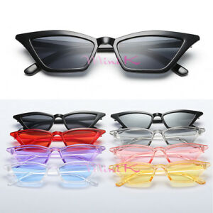 eb11998511f90 Image is loading Fashion-Vintage-Cat-Eye-Sunglasses-Women-Retro-Small-