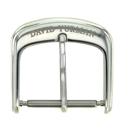 David Yurman Midsize Thoroughbread 18 mm Stainless Steel Buckle