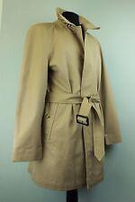 STUNNING Mens BURBERRY Summer Bespoke Short TRENCH OverCoat Mac Coat Beige UK 40