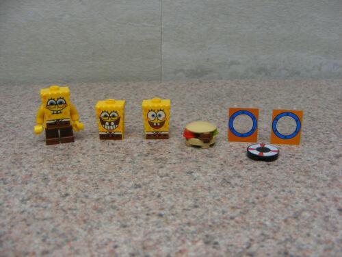 LEGO Spngebob Squarepants Minifigure Extra Bodies Crabby Patty