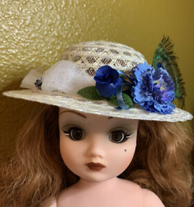New-Handmade-Fashionable-Hat-for-Cissy-Miss-Revlon-or-Similar-Doll