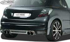 RDX Heckansatz PEUGEOT 207 incl CC Heck Ansatz Schürze Diffusor Hinten PUR ABS