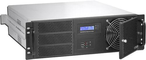 "ATX//ITX 3U D:14.96/"" Case Rackmount Chassis NEW Fan LCD 3x5.25/""+7xHDDs Bay"