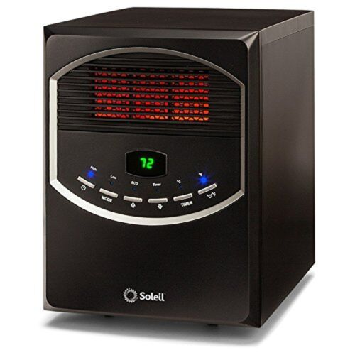 Soleil Ph-91s Electric Infrared Radiant Heater 1500 Watts