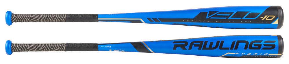 2019 Rawlings velo -10 USA 1PC (2 5 8 ) bate de béisbol US9V10 32 22