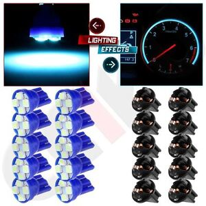 "6 Instrument Panel 5//8/"" Twist In Sockets Cluster Light Bulb Dashboard 194 GM"
