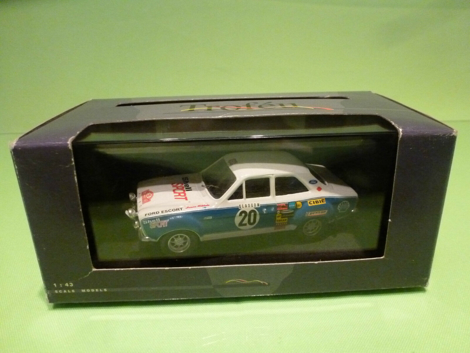 TROFFORD ESCORT RS 1600 RACING ROADCAR - WHITE 1 1 1 43 - NEAR MINT IN BOX 194496
