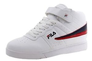 ee8a15d5b37f NEW 2016 BOY S GIRL S FILA VULC 13 WHITE CLASSIC HIGH TOP ANKLE ...