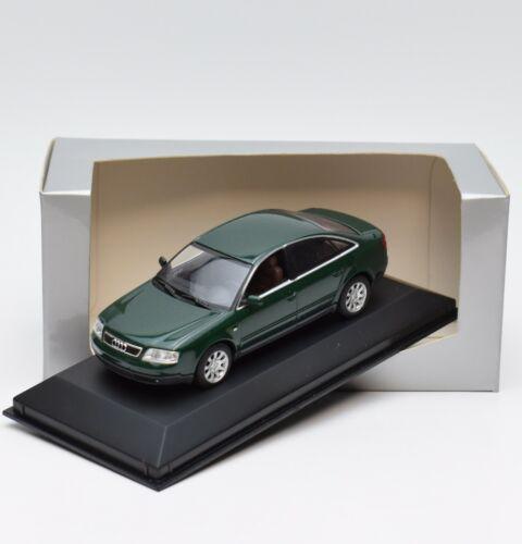 OVP 1:43 95//05 Minichamps Klassiker Audi A6 Limousine in grün