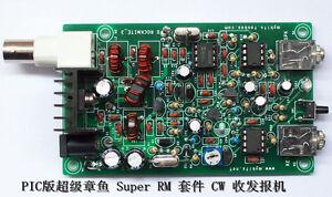 Assembled-PIC-8W-Super-RM-RockMite-QRP-CW-Transceiver-HAM-Radio-Shortwave