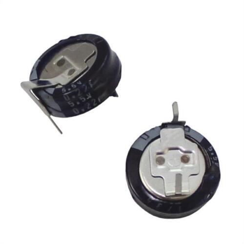 Goldcap capacitors 0,22F 0,47F 1F 5,5V ; double layer capacitor