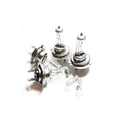 For Nissan Almera Tino V10 55w Clear Xenon HID High//Low//Side Headlight Bulbs Set