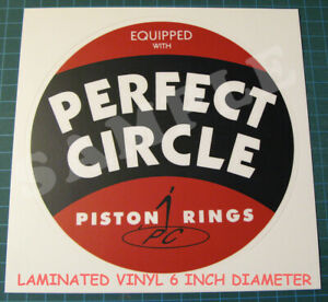 PERFECT-CIRCLE-PISTON-RINGS-VINYL-STICKER-DECAL-6-INCH-NASCAR-ROAD-RACING