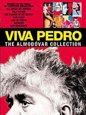 Viva Pedro - The Almodovar Collection (DVD, 2007, 9-Disc Set) VG free shipping!