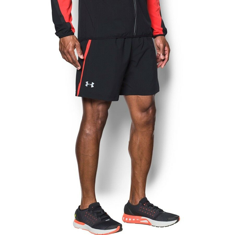 Workout Shorts Running Fitness UA Launch SW 2IN1 1291945 004 S