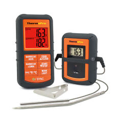 ThermoPro Digital Wireless Meat Cooking Thermometer with Timer Alarm Dual Probe