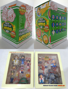Authentique Dr Slump Penguin Village Arale Chan 2 Boîte N'cha Set Figure 15pcs Mib