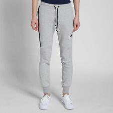 Nike Da Uomo Tech Pile Pantaloni Skinny Pantaloni Sportivi Grigio Taglia XL 545343 065