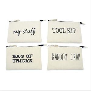 Bolsa-de-Trucos-Tool-Kit-patron-aleatorio-Carpa-COSMETIC-BAG-PENCIL-CASE-Funda-Shan