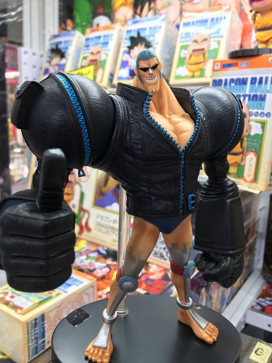 Banpresto One Piece Franky Figure Dxf The Grandline Men Film Gold vol.5 Toei