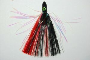 """blue water candy 6/"""" 1oz total weight mini jag white pink tips dead baits chains"""