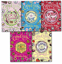 Chocolate Box Girls Collection Cathy Cassidy 5 Books Set Sweet Honey, Cherry