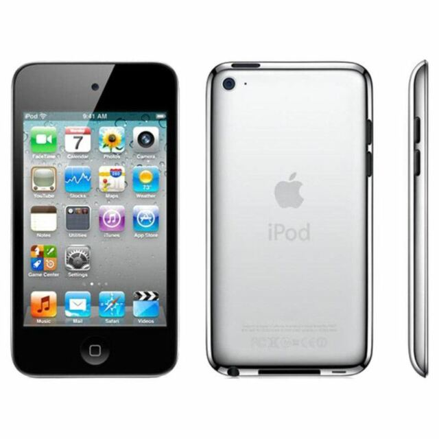 Apple Ipod Touch 4th Generation Black (16GB) Wi-Fi & Bluetooth (C)