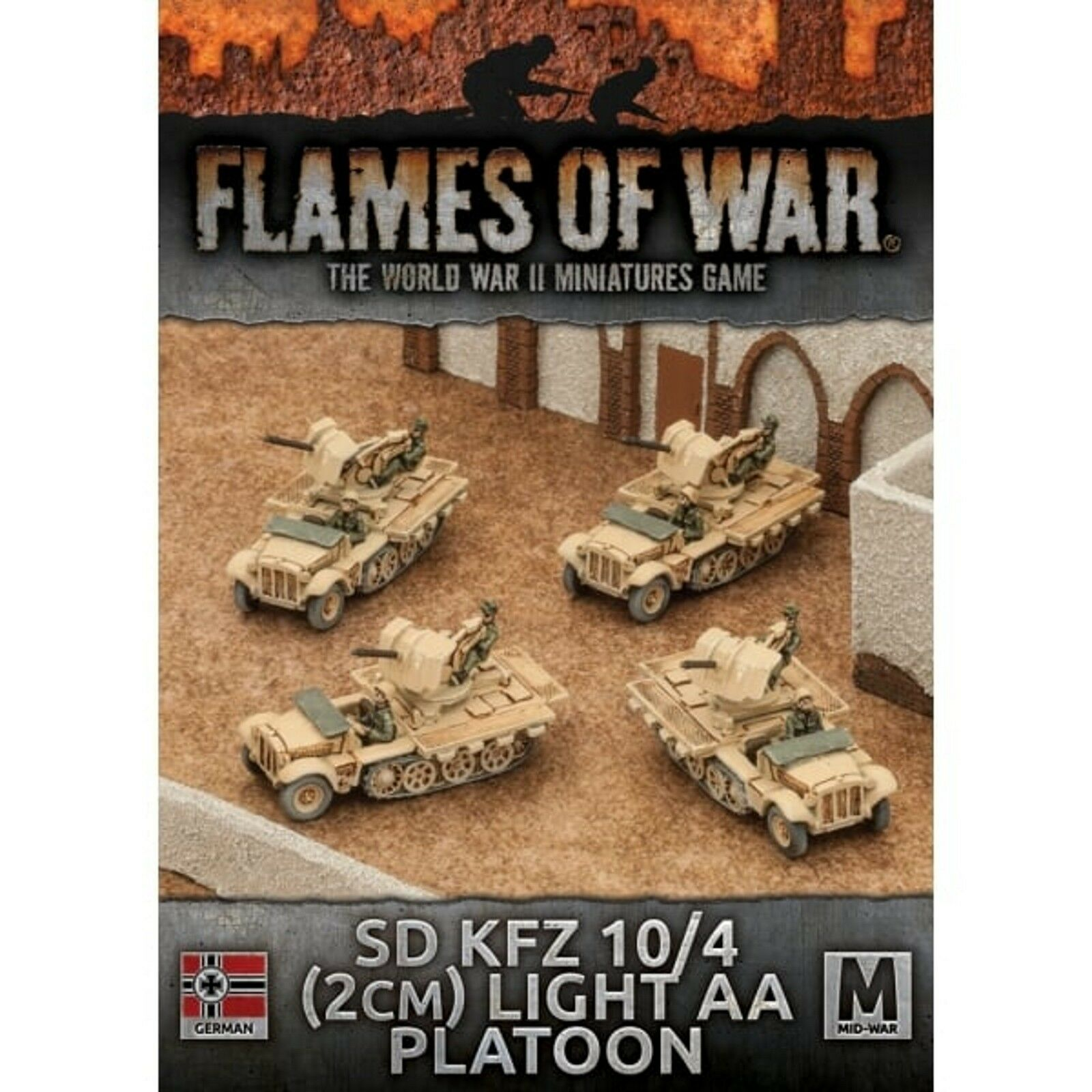 Flames Of War 4th Edition Panzer 11 Light Tank Platoon
