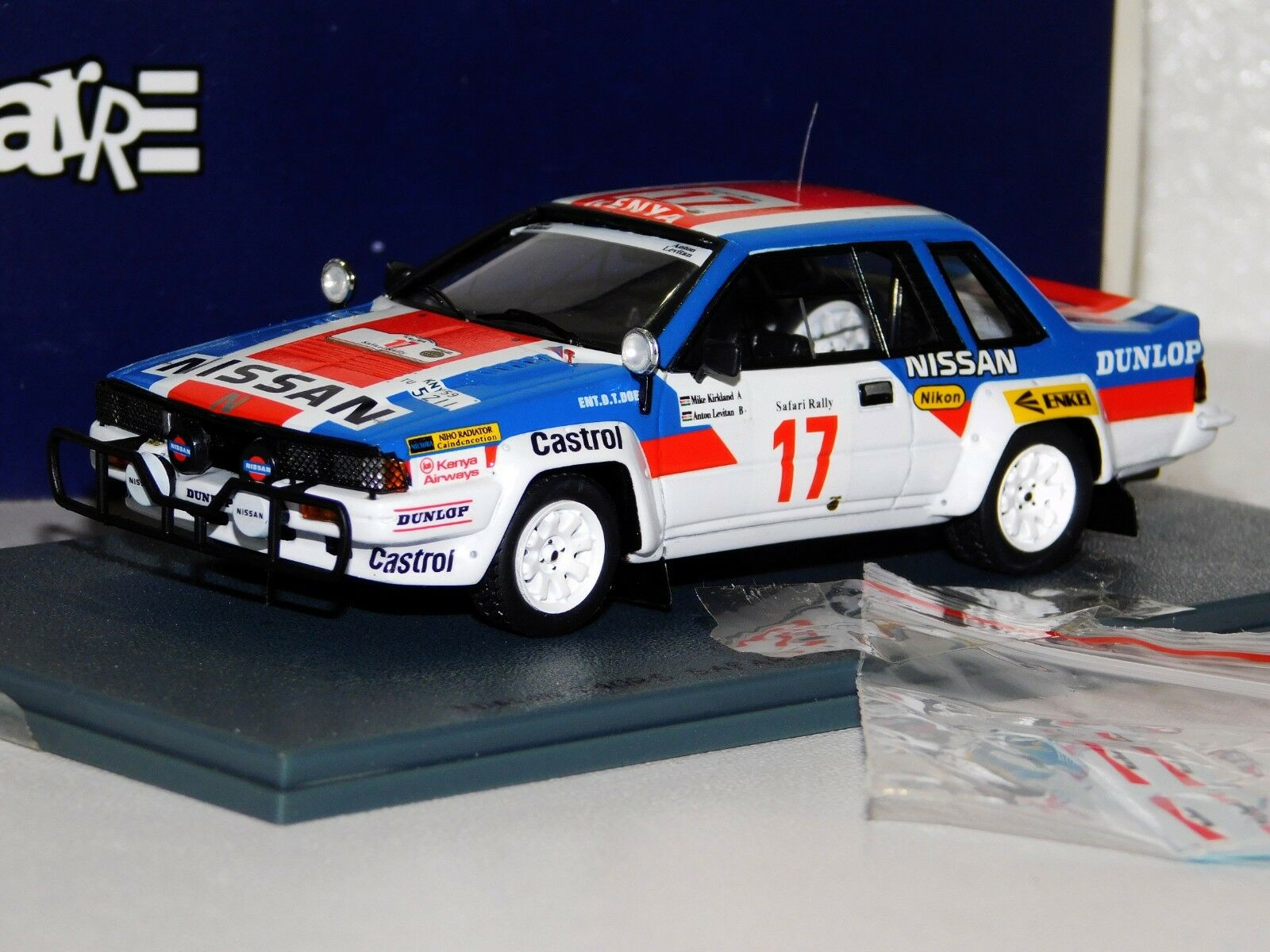 NISSAN 240RS SAFARI RALLY 1985 BIZARRE BZ222 (WITH DECALS) 1 43