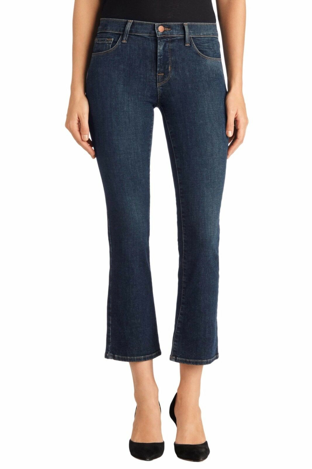 NWT J Brand Selena Mid Rise Crop Bootcut Lonesome Size 26,27,28