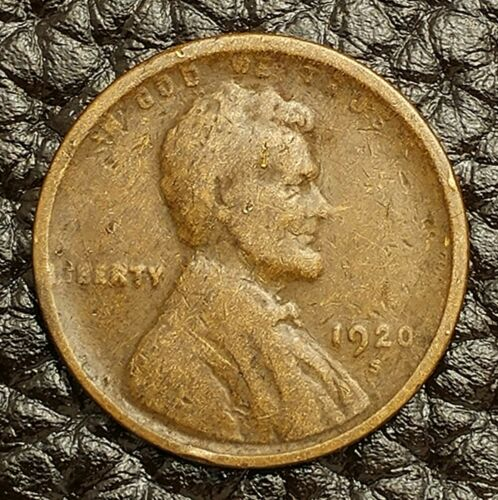 Condition ~ $20 ORDERS SHIP FREE! AG 1920-S Lincoln Wheat Cent in About Good